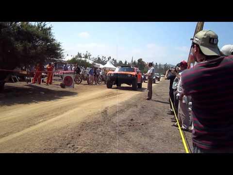 Largada tramo especial Limache | 315 Hummer Robby Gordon