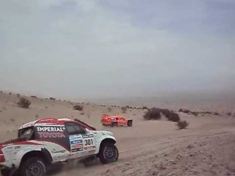 2013 Dakar Stage 11 Gordon vs DeVilliers