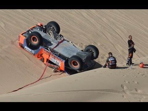 Stage 4 Highlights 2013 Dakar