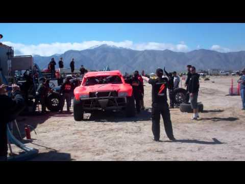 Baja 250 RPM 2013 Robby Gordon haciendole  pit al PIN