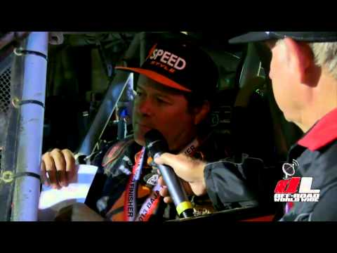 Robby Gordon 2013 Baja 1000 Finish Interview