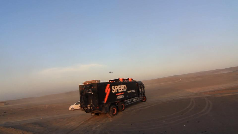 2012 Dakar Rally SPEED Team Stage 12