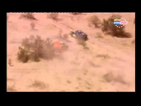 Robby Gordon Stage 5 helo shot2