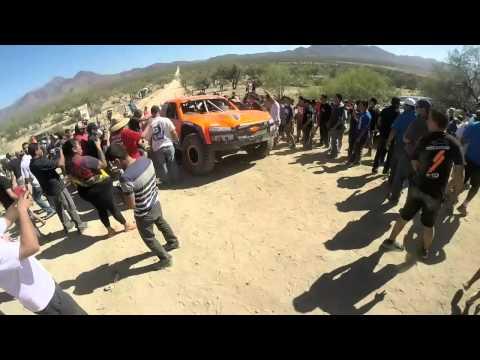 Baja 500 2014 Robby Gordon Problemas en San matias