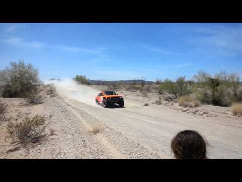 2015 Dakar Rally Robby Gordon HST Gordini Test