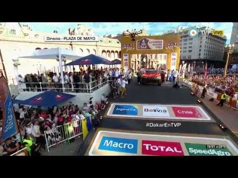 2915 Dakar Robby Gordon Intro & Jump