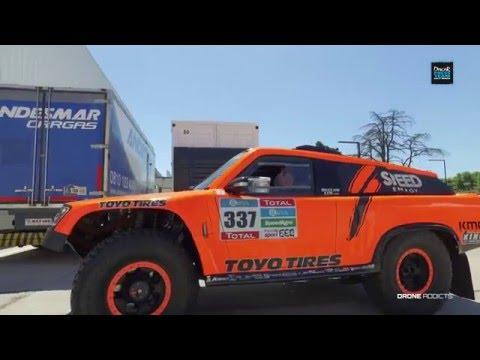 Team SPEED - Dakar 2016 - Interview Sheldon Creed