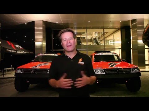 2016 Dakar - Robby Gordon - Day 1