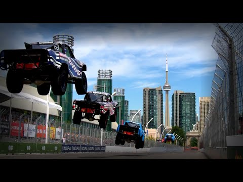 2016 Toronto Stadium SUPER Trucks CBS Sports Network