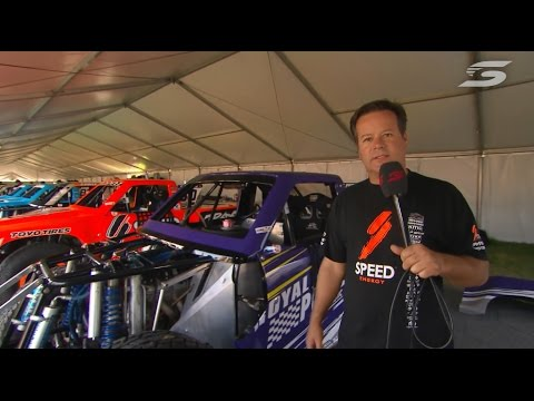Robby Gordon Stadium SUPER Trucks Walk-through