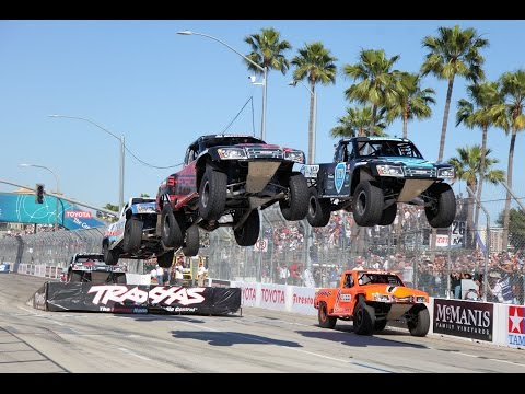 2016 Long Beach Stadium SUPER Trucks CBS Sports Network