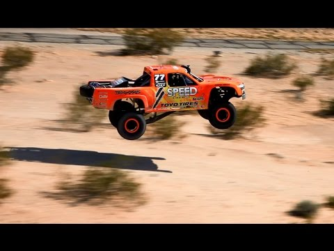 Robby Gordon Trophy Truck Air - 2015 Parker Test