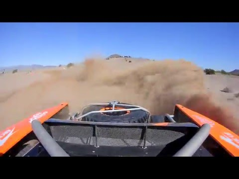 2016 Parker 425 Qualifying - Robby Gordon On Board Rear Cam