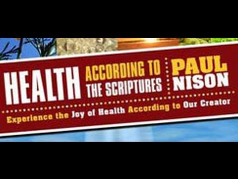 Health & Diet According To The Scriptures
