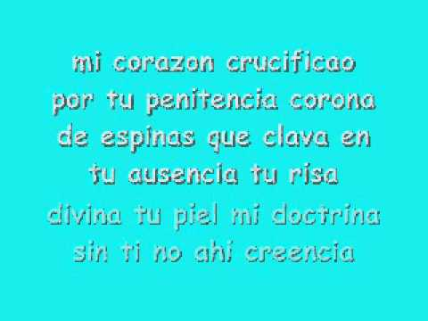 El Maki - Corazon crucificado (letra)