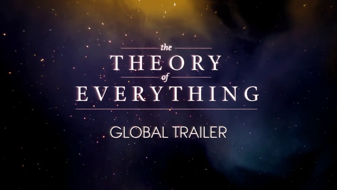 The Theory of Everything - Official Trailer [Discapacidad; Peli sobre Stephen Hawking]