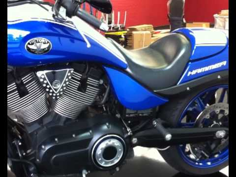 First video of the Victory Hammer S now on display in new Perth store