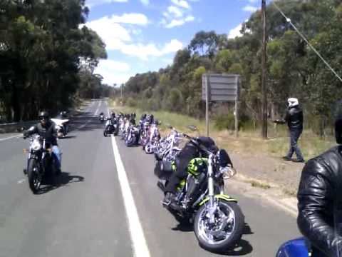 Day out with the Victory bike gang