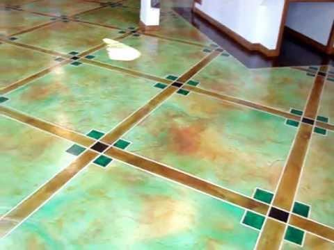Acid stain floor #41