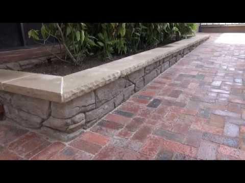 Brick   paver  concrete wall   Dallas Fort Worth   contractor
