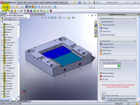 DFMPro for Solidworks - Design for Manufacturability