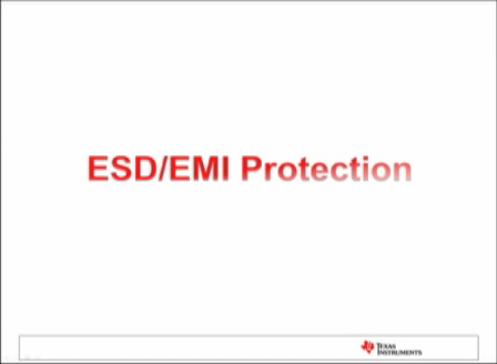 TI's ESD/EMI Protection Training Video