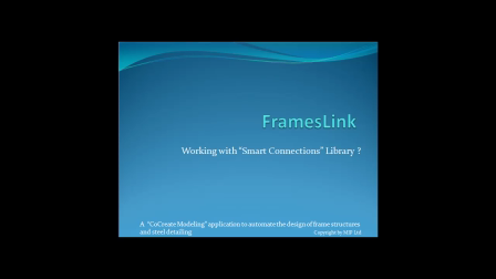 FramesLink - Working with Smart Connections Library