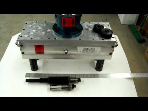 Heavy Duty Four Spindle ASA Style MT3 Drill Unit