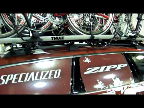 Thule Racks, SRAM and lots of bikes - AutoDrill Style