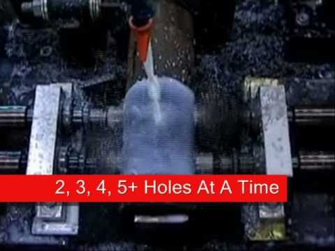 Pipe Drilling Information and Multi Drill Spindles