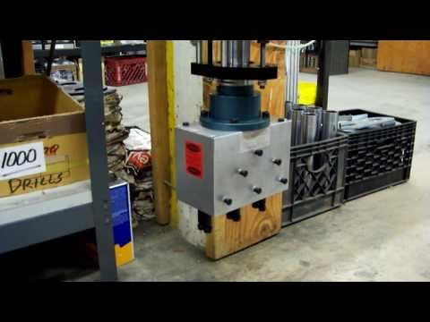Heavy Duty Drilling Machine with Multi Drill Spindles (6)