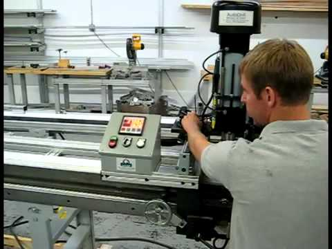 Kentucky Gauge 2-Axis Drilling Machine - AutoDrill