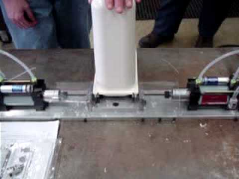 Drilling Small Holes in Pipe - Automatic Drills by AutoDrill