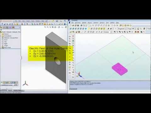 Demonstration of a SolidWorks/INTEGRATED Engineering Software Co-Simulation