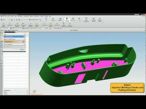 DFMPro for NX - Injection Molding