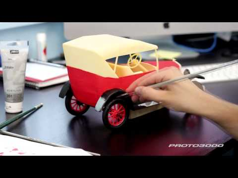 3D Printed 1927 Ford - Part 2