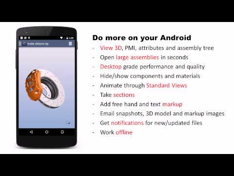 Glovius for Android - Introduction