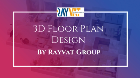 Architectural 3D Floor Plan Design services