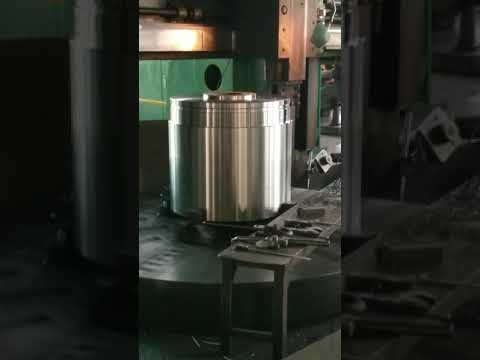 aluminum press extrusion container machining working abel8868@gmail.com