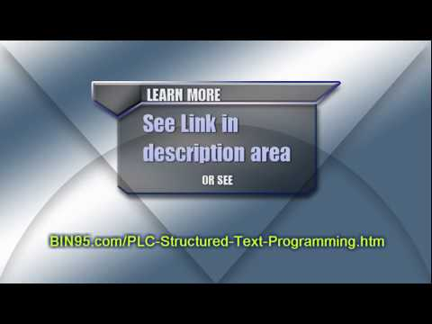 Online PLC Structured Text Programming Basics Course (using Codesys PLC Simulator)