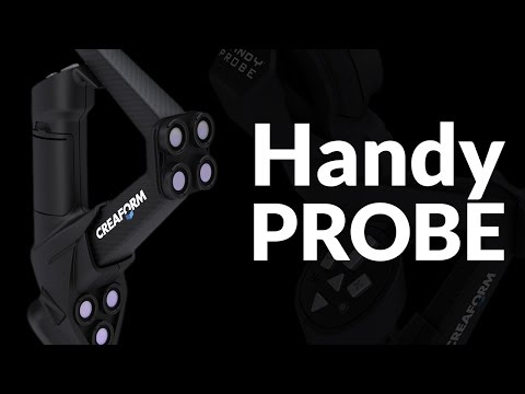 The HandyPROBE Next | Optical Portable CMM, Arm-Free Coordinate Measuring Machine