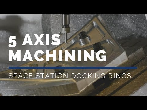 Mastercam, CAMplete, Haas Automation - Space Station Docking Ring