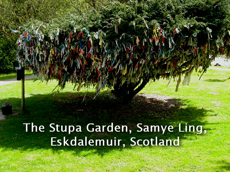 Samye Ling Stupa Garden