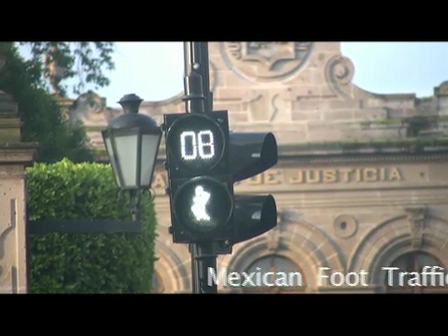 Mexican Foot Traffic