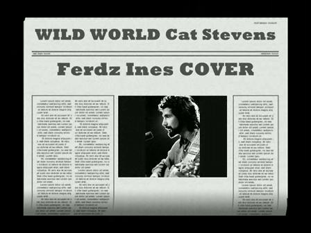 WILD WORLD Cat Stevens Cover