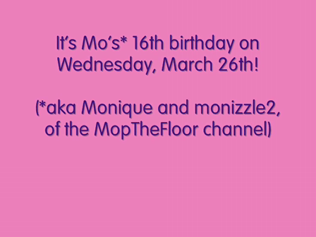 Mo's Birthday Video  (from 2 years ago)
