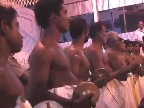 Chenda Melam being Performed at Paramekkavu Temple, Thrissur