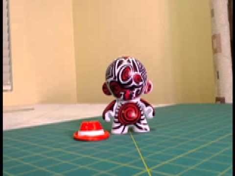 Art Every Day in August - Day 4 Munny