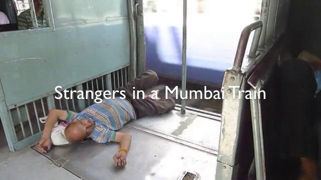 Strangers in a Mumbai Train