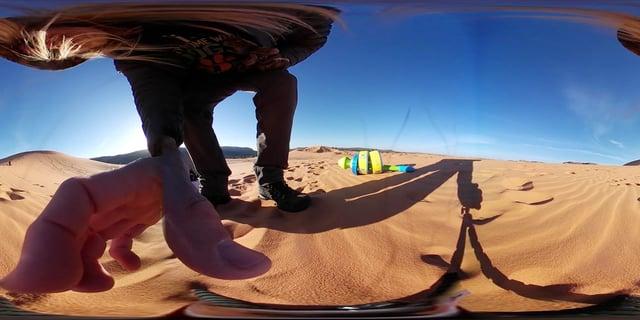 Coral Pink Sand Dunes.  Ark 360 video embed  test